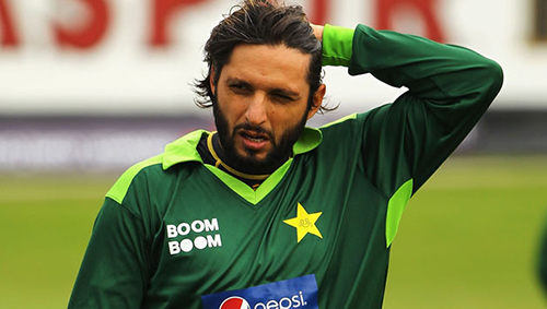 Shahid Afridi Pakistan cricket