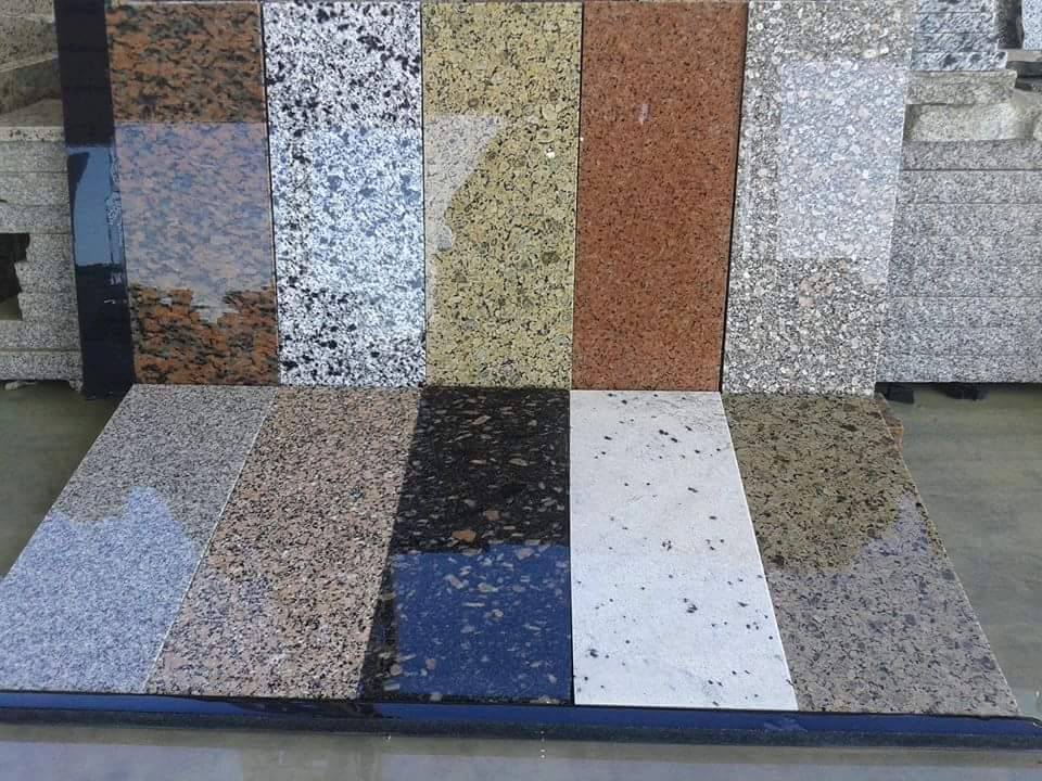 Granite Tile - types of tile use in your home