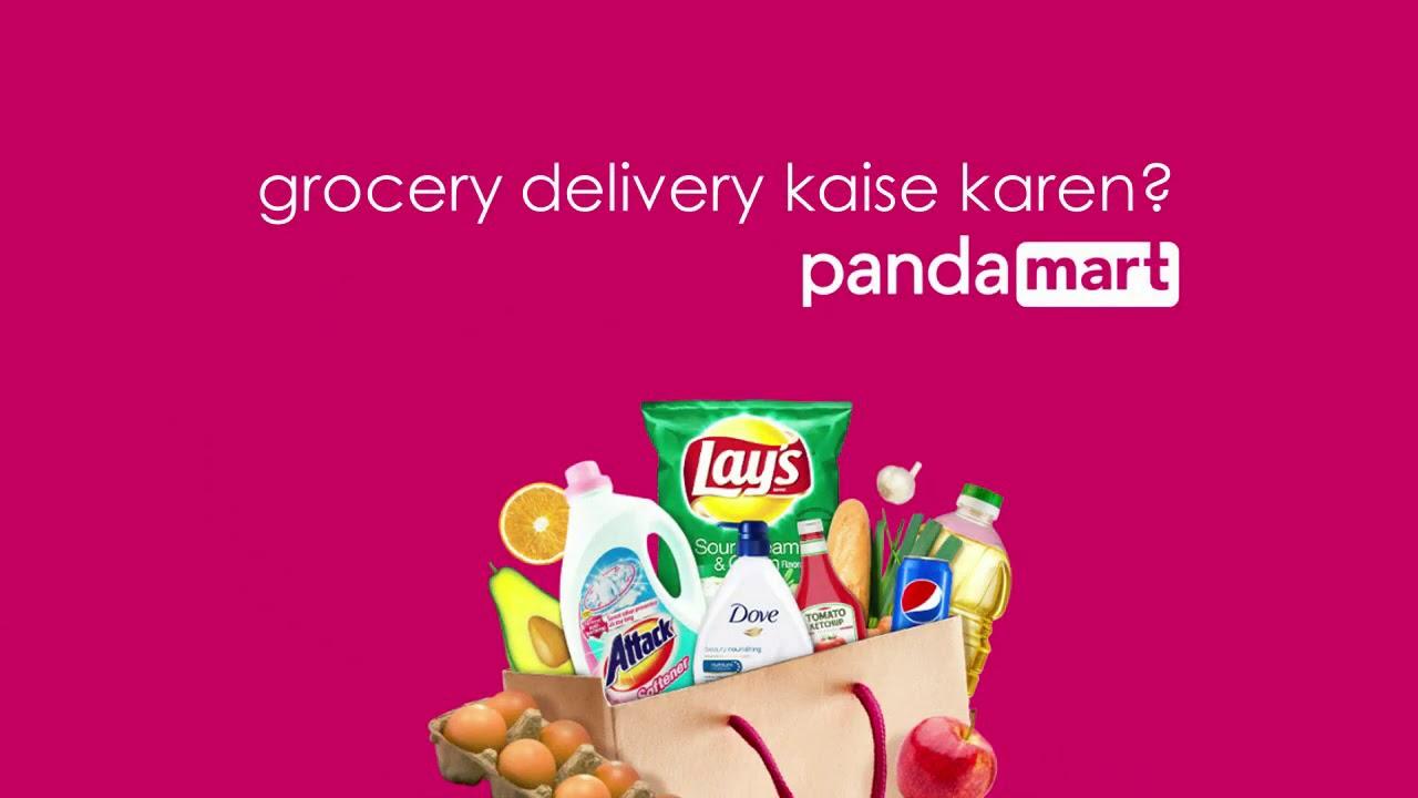 Panda mart- grocery at your doorstep