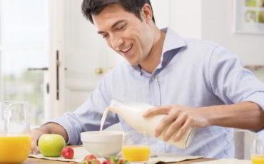 Healthy People Eat for Breakfast