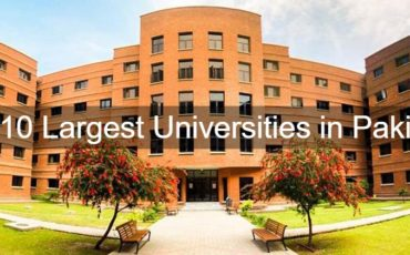 Top 10 Largest Universities in Pakistan