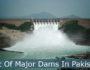 List Of Dams in Pakistan